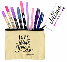 Jillian's Loveleigh Loops Brush Pen Collection