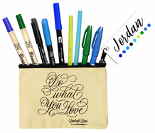 Jordan's Loveleigh Loops Brush Pen Collection