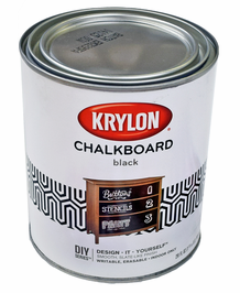 Krylon Black Chalkboard Paint - Brush-On