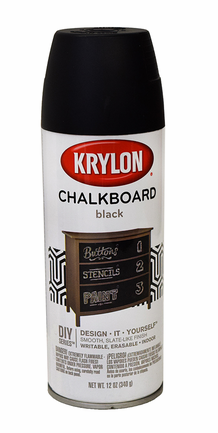 Krylon Black Chalkboard Paint - Spray Can