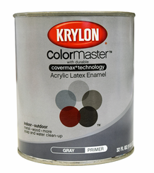 Krylon ColorMaster Primer, Brush On, Gray