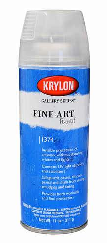 Krylon Fine Art Fixatif Spray