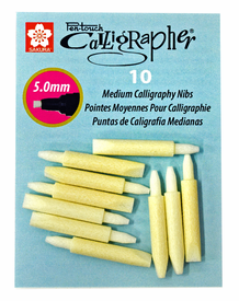 Sakura Pentouch Calligrapher Medium- Replacement Tips- Pack of 10