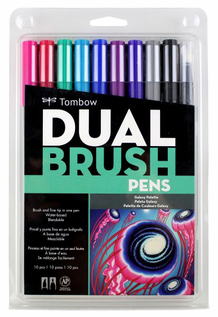 Tombow Dual Brush Pens- Galaxy Set of 10