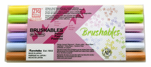 Zig Brushables Pastel Set of 6