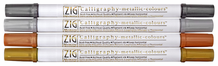 Zig Calligraphy Metallic Set of 4