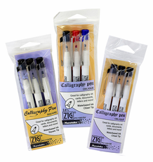 Zig Calligraphy Pen 3 Packs