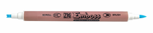 Zig Emboss Scroll & Brush Marker