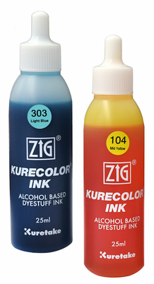 Zig Kurecolor Alcohol Inks