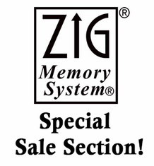 Zig Memory System- Clearance Specials