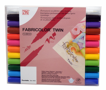 Zig Textile Fabricolor Twin Set of 12