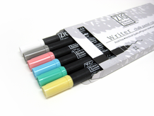 Zig Writer Chalk Pastel Set of 6