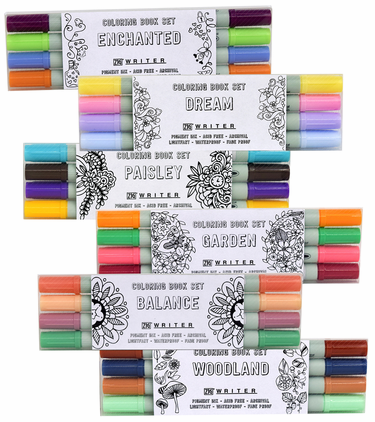 Zig Writer Coloring Book Sets