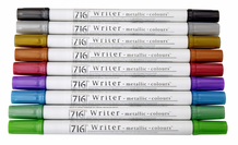 Zig Writer Metallic- Complete Set of 9