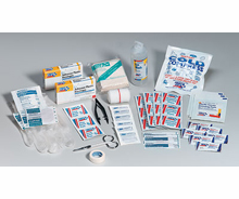106 PIECE REFILL FOR 25 PERSON FIRST AID KIT
