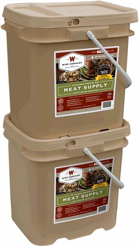 120 Servings Wise  Meat Bucket
