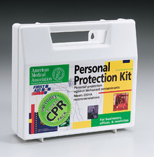 18 PIECE PERSONAL PROTECTION KIT/6 PIECE CPR PACK