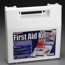 181 PIECE ALL PURPOSE FIRST AID KIT