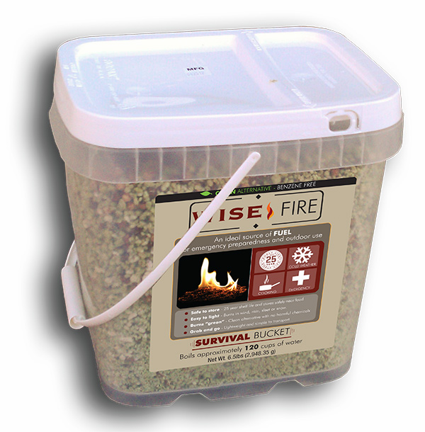 2 Gallon Bucket of  Fire Starter