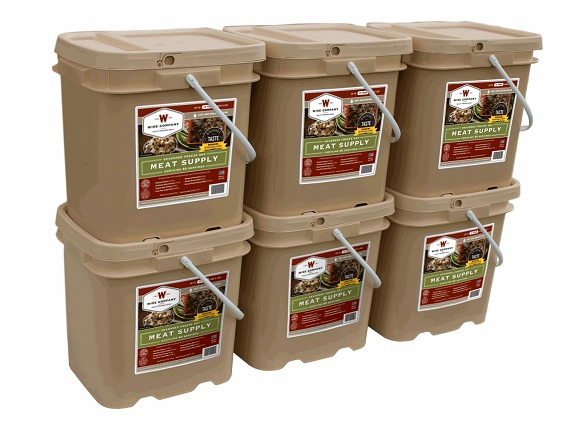 360 Servings Wise Meat Bucket