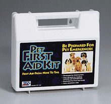 44 PIECE PET FIRST AID KIT