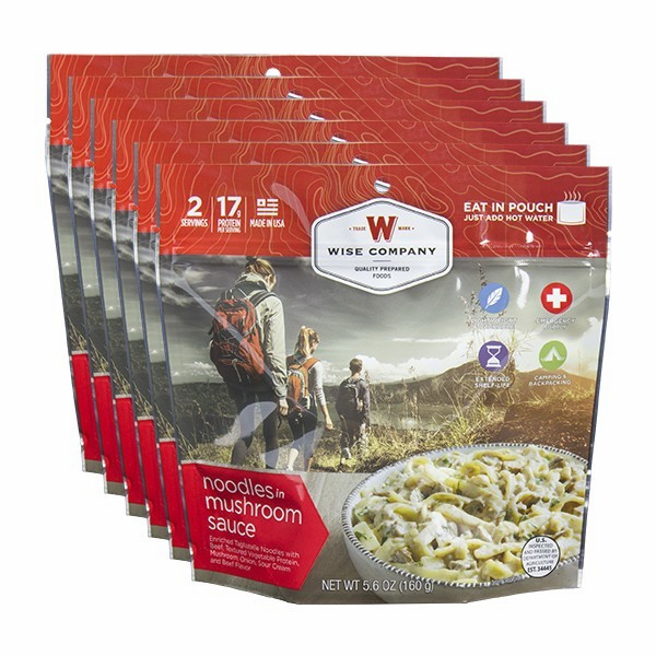 6 PACK COOK IN THE POUCH- STROGANOFF