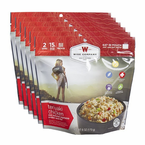 6 SERVING COOK IN THE  POUCH - TERIYAKI & RICE