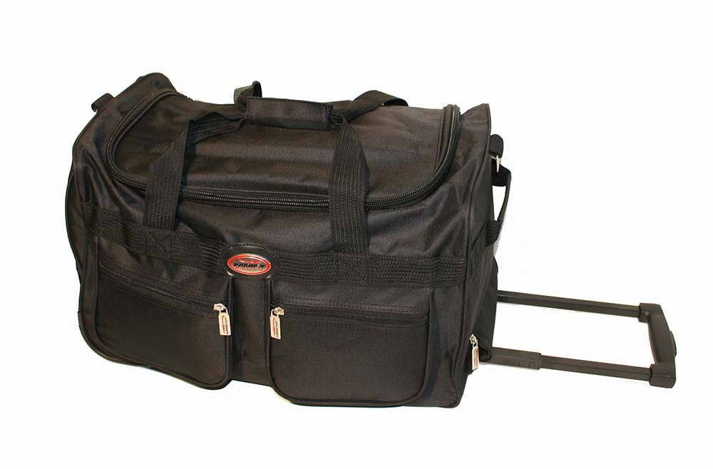 Black Wheel Bag