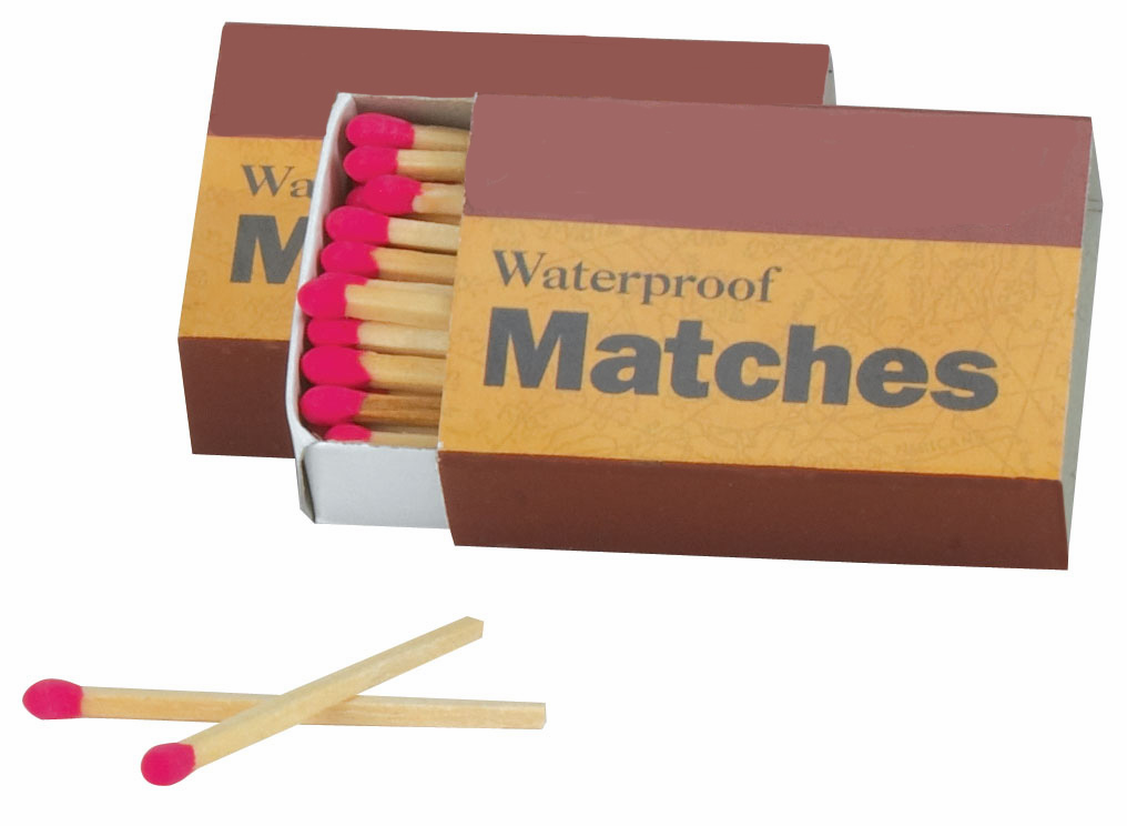 Box of 50 Waterproof Matches