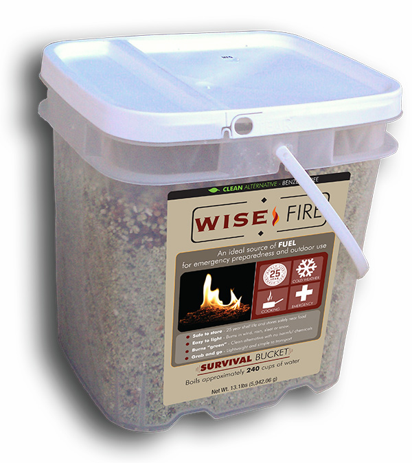 Fire Starter 4 Gallon Bucket