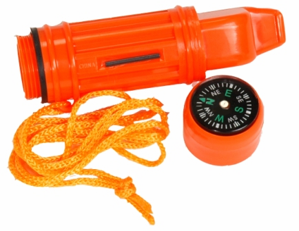 Survival Whistle  5-In-1