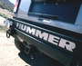 H2-SUT Hummer Bumper Letters SS
