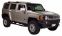 H3 Hummer Chromed ABS 15 Piece Exterior Overlay Package