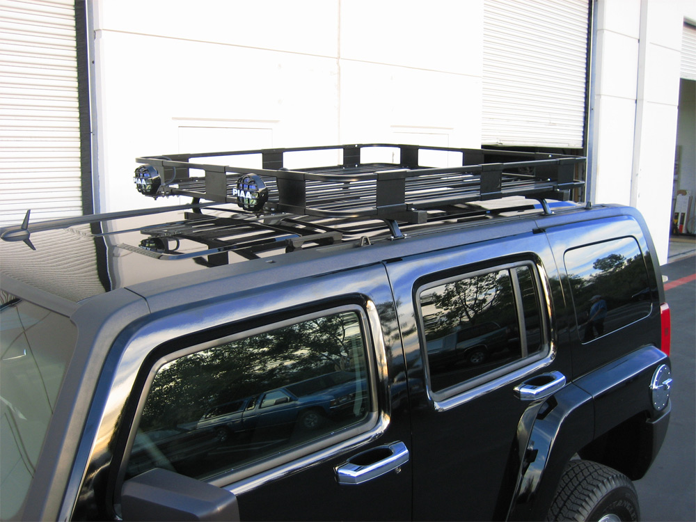 H3 hummer safari roof rack base kit aloadofball Image collections