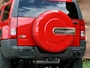 H3 Hummer Tire Cover Color Matched