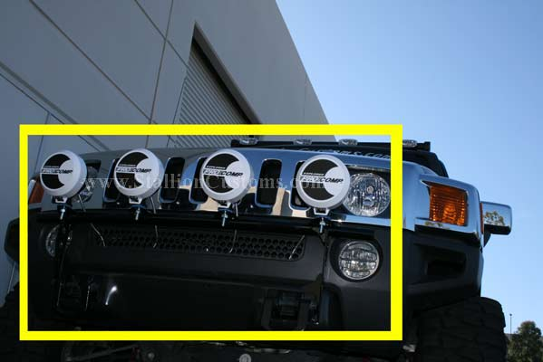 H3t Hummer N Fab Light Bar