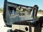 HPW Hummer H2 Stainless Steel Polished/Brushed Flame Etched Hood Panel Kit