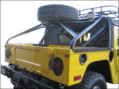 hummer h2 spare tire carrier