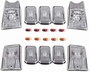 Hummer H2 Clear Roof Lamp Set