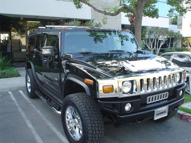Stainless Steel Full Lower Grille for HUMMER H2 SUV /& SUT