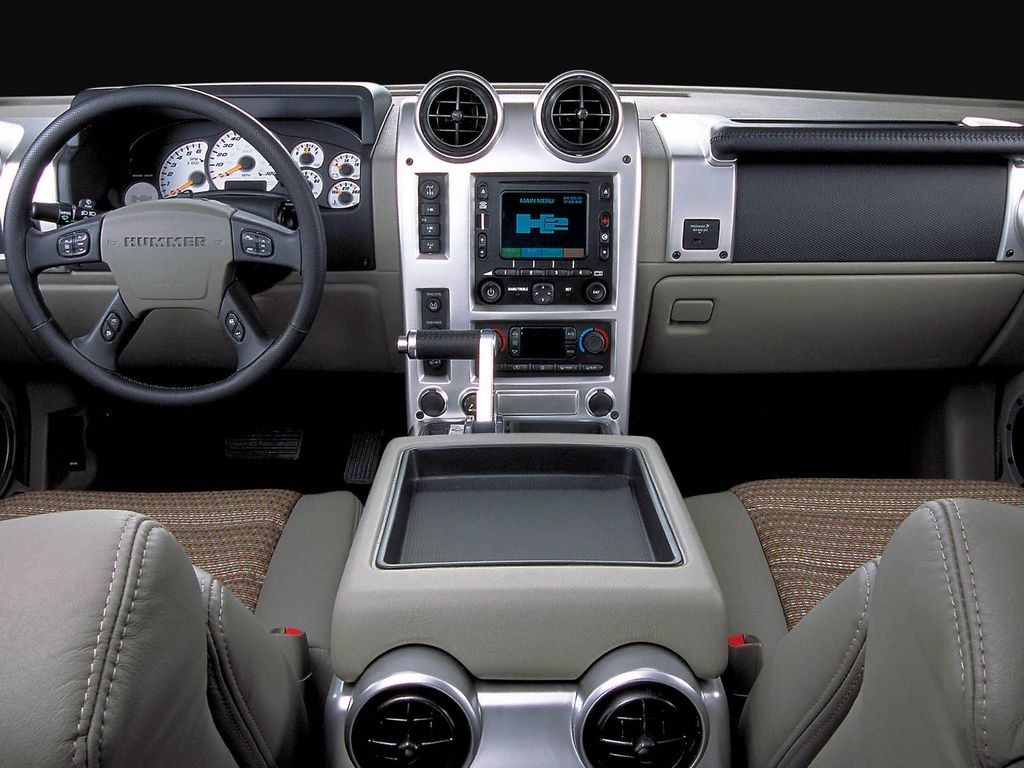 Hummer h2 interior for Interieur hummer