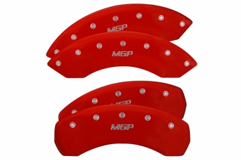 Hummer H2 MGP Brake Caliper Covers (MGP ENGRAVING)