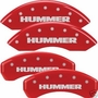 Hummer H2 MGP Caliper Covers (HUMMER ENGRAVING)
