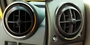 Hummer H2 Stainless Steel Front A/C Vent Rings 2PC