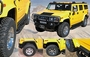 Hummer H2/SUT Pre-Painted factory style fender flares