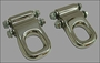 HUMMER H2 & SUT STAINLESS STEEL FRONT TOW HOOKS