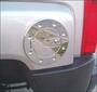 Hummer H3 Billet Aluminum Chrome Locking Fuel Door