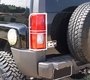 Hummer H3 Stainless Steel Tail Light Guards