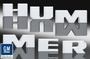 Hummer H3T Billet Extra Thick Chrome Tail Gate Letter Set by Defenderworx