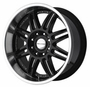 KMC Backseat Black 22X10